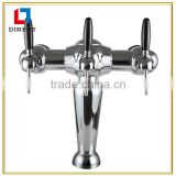 European style Kegerator dispenser beer tower in Bar with three circles