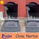 china black high polished marble tombstone for baby NTGT-177X