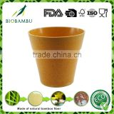 Degradable Quality assurance Outdoor&Indoor Bamboo Fiber pots