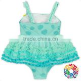 Hot Sale Pretty Cute Young Girls Bikini One Piece Swimsuit Kids Swimwear