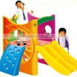 PLASTIC TOY SLIDE MANUFACTURER - CHILDREN BACKYARD GAME EQUIPMENT role play toys (HB-13704)