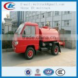 high performance 1.5cbm 60hp mini water fire truck for hot sale