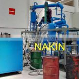 JZC vacuum waste engine oil distillation plant/motor oil recycling filter/black oil decoloring equipment