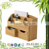 Aonong Bamboo Space Saving Desk Organizer