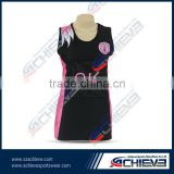 custom cheap netball dress netball bibs for selling