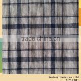 linen cotton yarn dyed fabric