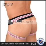 New Model Stripe Band Cross Strap Cotton Underwear Boxer For Man Boxer Briefs Bandag Sexy Thongs