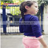 2015 children's clothing factory direct wholesale of knit sweater for young girls