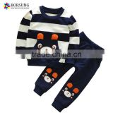 Fall fashion baby boys clothes casual sports printing boutique outfits kids clothing sets