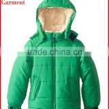 baby boys clothing with hood for winter outdoor wear made in China