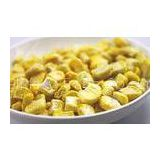 Safety Yellow Freeze Dried Emergency Food Freeze Dried Corn Kernels Niblets