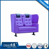 High end fabric couple cinema seats,lover cinema seats for cinema room
