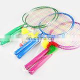 Eco-Friendly Children Game Badminton Rackets Set