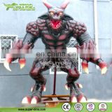 Amusement Park Fiberglass Monster Sculpture