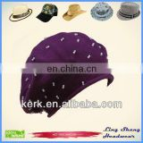 LSC29 Fashion Girl 100% snow promotional caps winter hat Cotton Hat