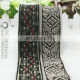 Novel woven jacquard ribbon for clothing
