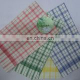 two colour check kitchen towel in different colours