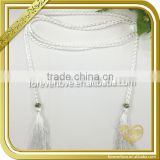 Popular curtain beaded tassel, Bead tassels FT-032