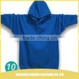 Chinese manufacturer oem supply cheap wholesale plain black hoodie 65% cutton 35% polyster