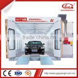 Rational Construction Powder Coated Support Frame Imported Components Car Spray Booth Paint Booth Baking Booth(GL2000-A1)