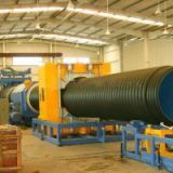 I'm very interested in the message 'HDPE/PVC Double Wall Corrugated Pipe Extrusion Line' on the China Supplier