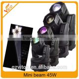 New sharpy moving head 45W beam effect stage mini led moving head                                                                                                         Supplier's Choice