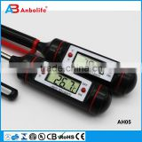Cooking Thermometer - Best Digital Thermometer for All Meat, BBQ and Candy Use with Barbecue, Grill, Oven, Smoke