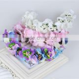 Handmade artificial flower headband Korean bridal hair accessories 284G                                                                                                         Supplier's Choice