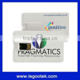 full color print logo promotion usb visa cards