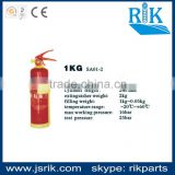 Brand since 1989!china leading safety manufacturer RIK top selling 1KG 90mm powder fire extinguisher