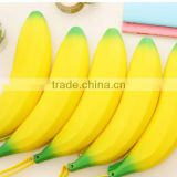 Novelty Silicone Portable Banana Coin Pencil Case Purse Bag Wallet Pouch Keyring