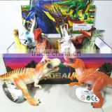 2015 newest style ,dinosaur plastic toy animal, dinosaur models set toy, 12pieces/set,children classic toy