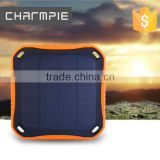 2016 new portable solar power bank charger usb power bank plate/ super mini mobile solar power bank 5600mah