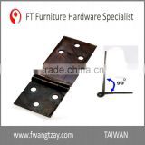 Taiwan Factory 92 x 32 x 2 mm Good Quality Heavy Duty Home Kitchen Cabinet 180 Degree Hinge