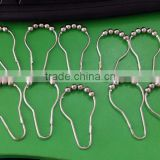 High Quality Shower Curtain Hook With Ball/Factory Price Curtain Hook With Ball                                                                         Quality Choice
