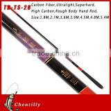 Chentilly02 TD-TS-28 Coarse body hand Fishing Rods Tackle Tool wholesales Pure Carbon Carp Rod Streams fishing rod
