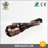 JF emergency light torch,powerful flashlight rechargeable led flashlight torch,police security flashlight torch