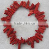 Wholesale Red Coral Natural Dyed in Red Rough Natural Big Red CoralChina Direct Manufacturer
