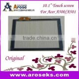 10.1 inch Touch screen for Tablet Acer A500/A501 spare parts