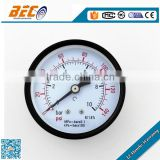 generally applicable heavy duty steel air pressure guage
