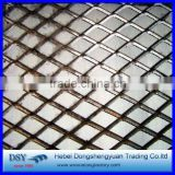 Diamond Wire Mesh Raised Expanded Metal painting hot dip galvanized expanded metal                                                                                                         Supplier's Choice