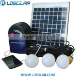 hot selling solar indoor home lighting system with led and buit in battery                                                                         Quality Choice