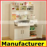 modern design Strong Structure pvc door,Steel and wood kitchen Cupboard Price