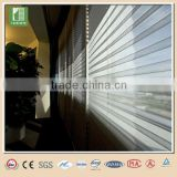 Non-woven lace pleated window blinds polyester fabric pleated blinds