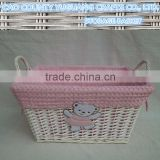 lovely natural gift <b>wicker</b> basket for kids