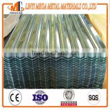 hot sale PPGI corrugated metal roofing sheet china supplier zincalume/galvalume corrugated steel roofing sheet