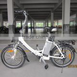 250W logo with pink bell mini folding electric bike with 36v 10ah lithium battery XY-EB003F