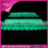 LED lighting fiber optical luminous fabric cloth wholesale raw cotton fabric