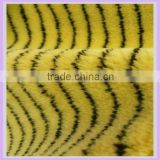 9 mm polyester paint roller fabric yellow & black zebra print fabric alibaba china supplier