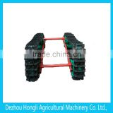 farm machinery metal track chassis with factory price